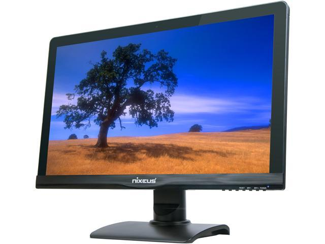 "Nixeus NX-VUE27D Black 27"" 6ms Widescreen LED Backlight Monitor"