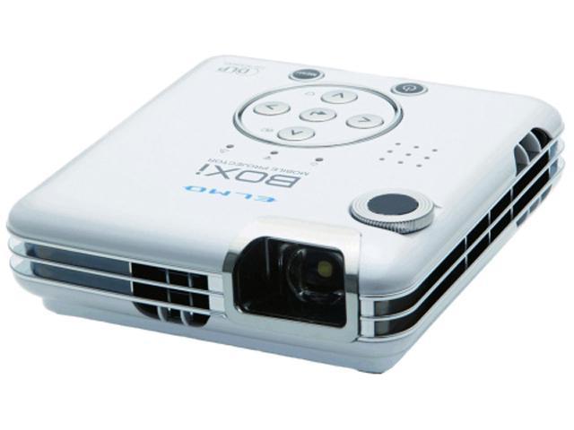 ELMO MP-350 BOXi WXGA 1280x800 300 ANSI Lumens 1.1Lbs USB Wi-Fi Ready Mobile Prjtr
