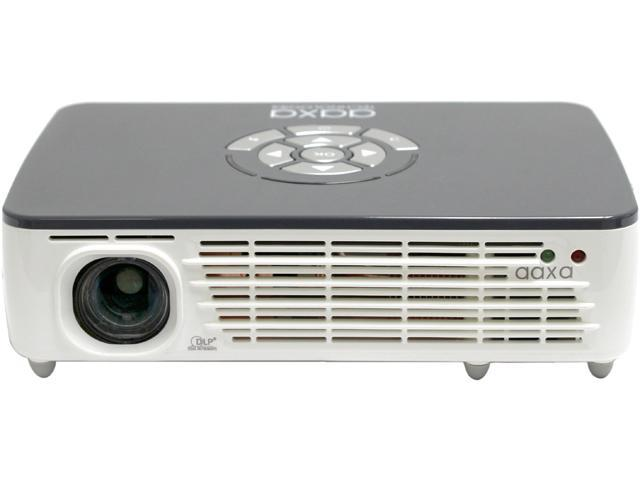 Aaxa p450 pico micro projector with led wxga 1280x800 hd for Micro projector reviews