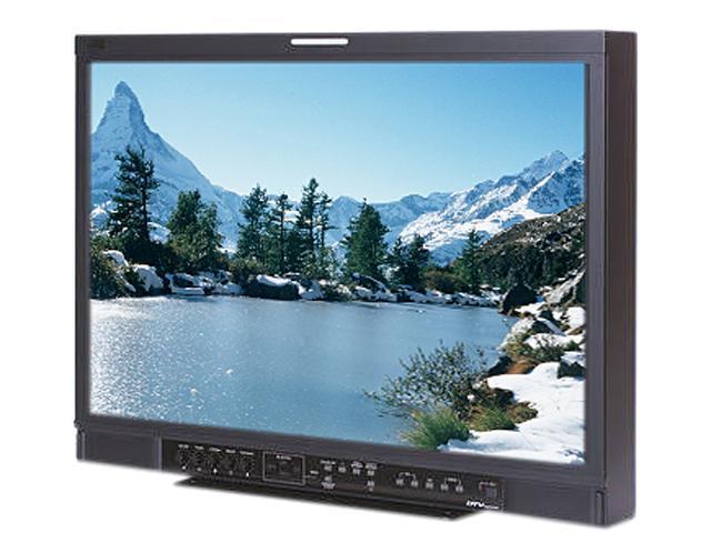 "JVC Professional Verite R-Series DT-R24L4DU Black 24"" Widescreen LCD Studio Monitor w/HDSDI Built-in Speakers"