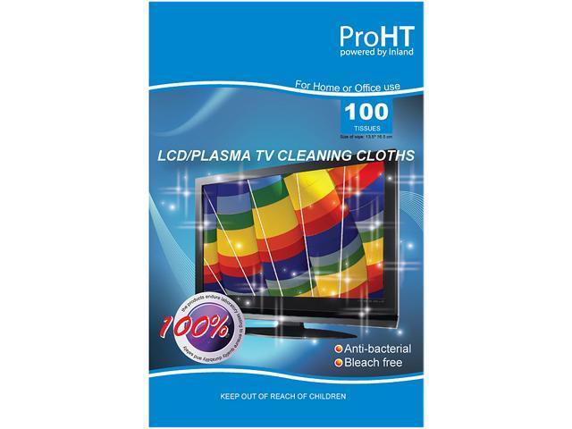 inland 5123 LCD Plasma Screenn Wipes 100-Pack