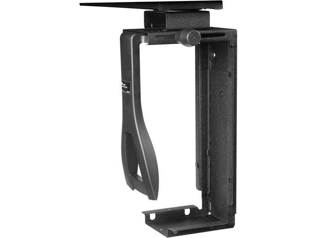 3M CS200MB Under-desk Computer Case Mount with Swivel, Black