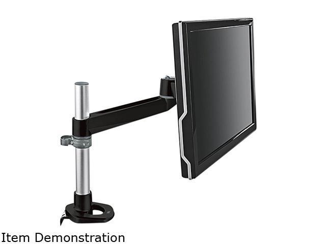 3M MA120MB Black Single-Swivel Monitor Arm
