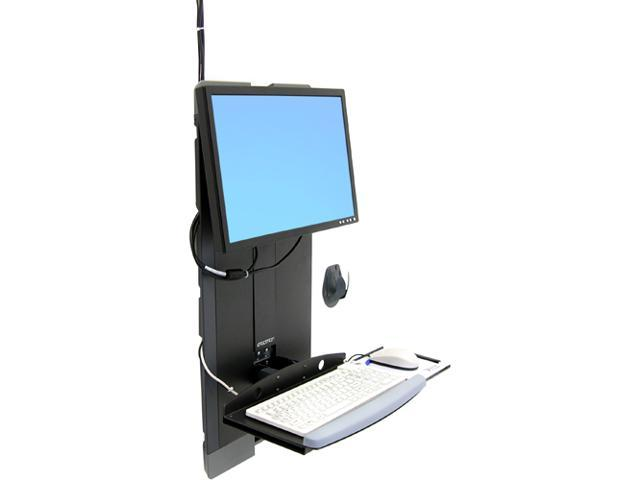 Ergotron 60-593-195 StyleView Vertical Lift, High Traffic Areas