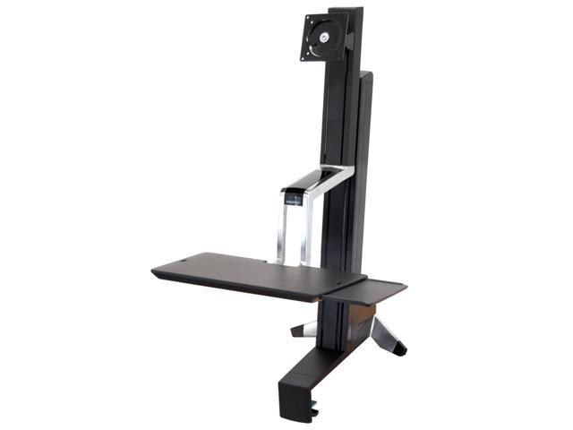 Ergotron 33-342-200 WorkFit-S Single LD Sit-Stand Workstation