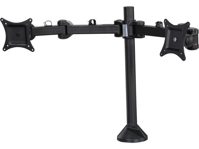 SIIG CE-MT0Q11-S1 Articulating Dual Monitor Desk Mount - 13