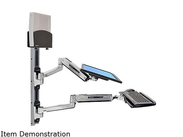 Ergotron 45-359-026 LX Sit-Stand Wall Mount System