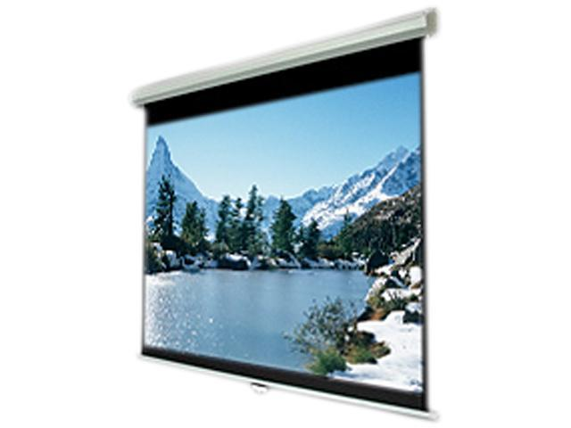 """inland HDTV(16:9) ProHT 100"""" Manual Projection Screen 05351"""