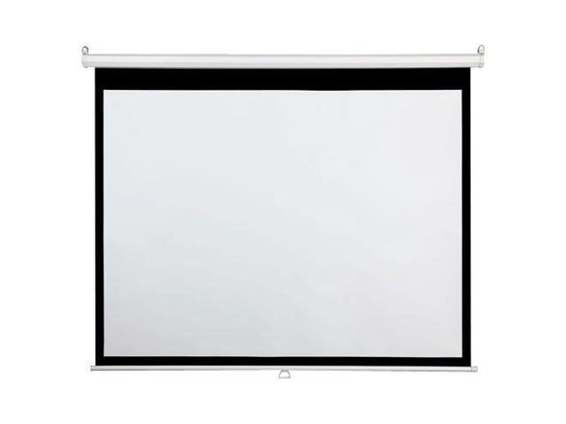 """DRAPER 94"""" 16:10 Wall Mount, Ceiling Mount Accuscreens Manual Projection Screen 800062"""