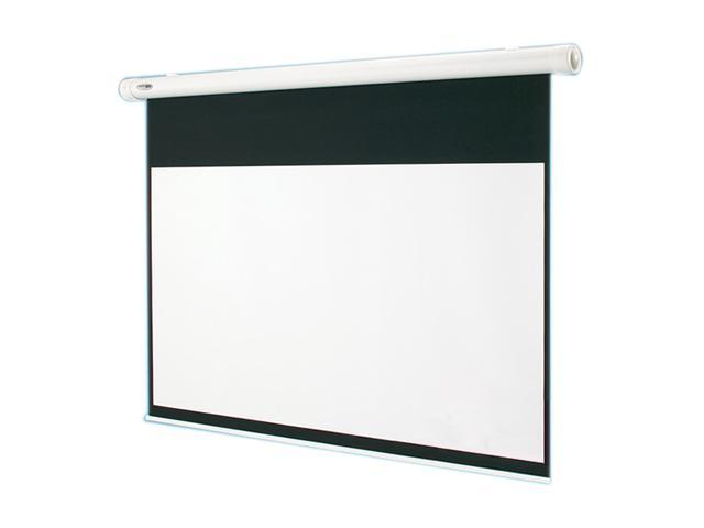 "DA-LITE 84"" Electric Projection Screen - 50 x 66.5"" - 84"" Diagonal - Video Format (4:3 Aspect) - Matte White 136007"