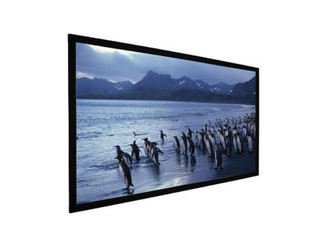 "AccuScreens 82"" Fixed Frame 82"" HDTV Fixed Soundscreen Gray 800023"