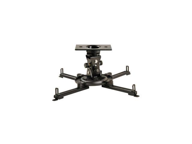 Peerless-AV PAG-UNV Arakno Geared Projector Mount for Projectors up to 50 lb Black