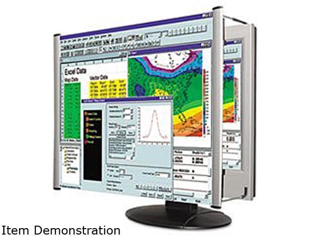 Kantek MAG15L LCD Monitor Magnifier Fits 15