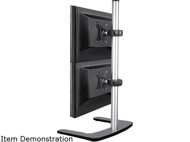 atdec VFS-DV Visidec Freestanding Double Vertical Monitor Display Stand