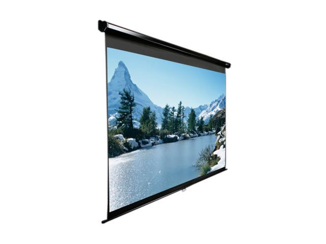 Elitescreens HDTV(16:9) Manual Ceiling/Wall Mount Manual Pull Down Projection Screen (100