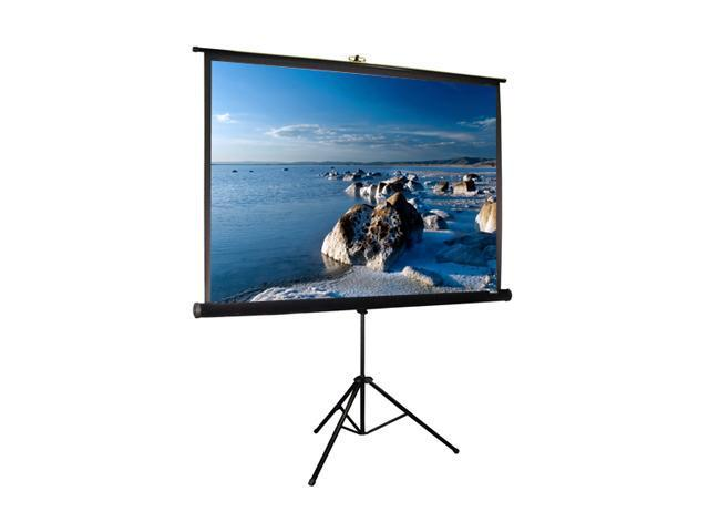 "99"" DIAG Tripod Portable Pull-Up Projection Screen"