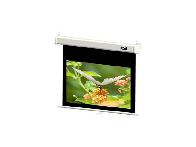 "Elitescreens 100"" HDTV(16:9) Manual Manual SRM Pro Ceiling/Wall Mount Manual Pull Down Projection Screen (100"" 16:9 AR) (MaxWhite ..."