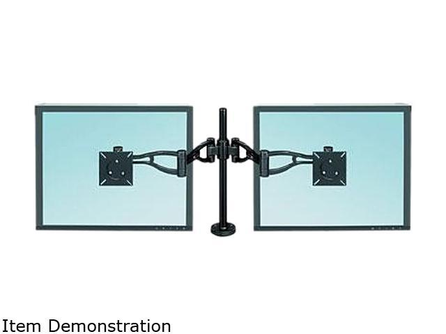 Fellowes 8041701 Professional Series Depth Adjustable Dual Monitor Arm