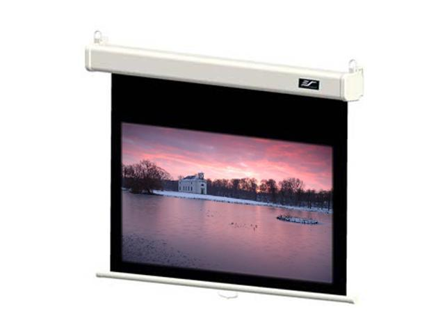 """Elitescreens 120"""" Manual Manual SRM Pro Ceiling/Wall Mount Manual Pull Down Projection Screen (120"""" 16:9 AR) (MaxWhite FG) ..."""