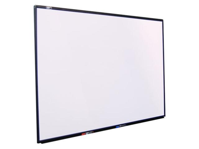 "EliteSCREENS WB94HW WhiteBoardScreen Universal Wall Mount Fixed Frame Dry Erase Projection Screen (94"" 16:9 AR)"