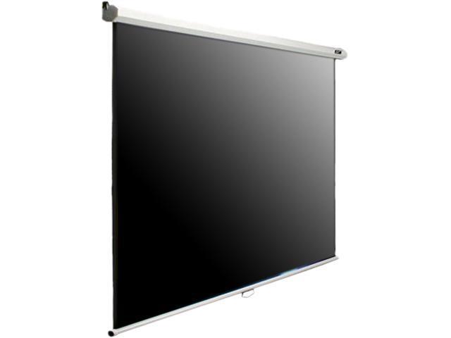 "EliteSCREENS M100V Manual B Ceiling/Wall Mount Manual Pull Down Projection Screen (100"" 4:3 AR) (MaxWhite)"