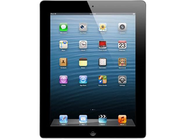 "Refurbished: Apple iPad 4 MD510LL/-B 9.7"" Retina Touchscreen 16 GB Apple A6 1.40 GHz iOS 6 Wi-Fi Only Black (B Grade)"