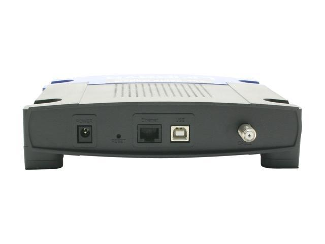LINKSYS BEFCMU10 10/100Base-T Cable Modem with USB and Ethernet Connections