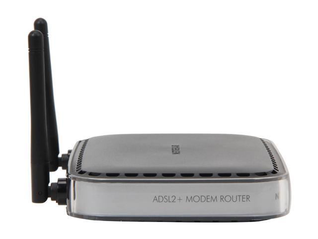 NETGEAR DGN2000-100NAR Wireless-N Router With Built-in DSL Modem Ethernet Port WAN (ADSL): ITU 992.1 (G.dmt) Annex A, ITU 992.2 (G.lite), ITU 992.3 ADSL2 (G.dmt.bis), ITU 992.5 ADSL2+