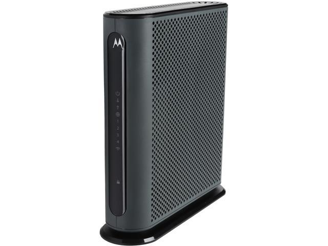 motorola 8x4 cable modem. motorola mg7310 8x4 343 mbps docsis 3.0 cable modem plus n300 wireless gigabit router certified by s