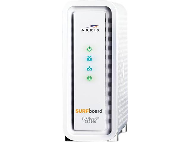 how to check firmware on arris sb6190