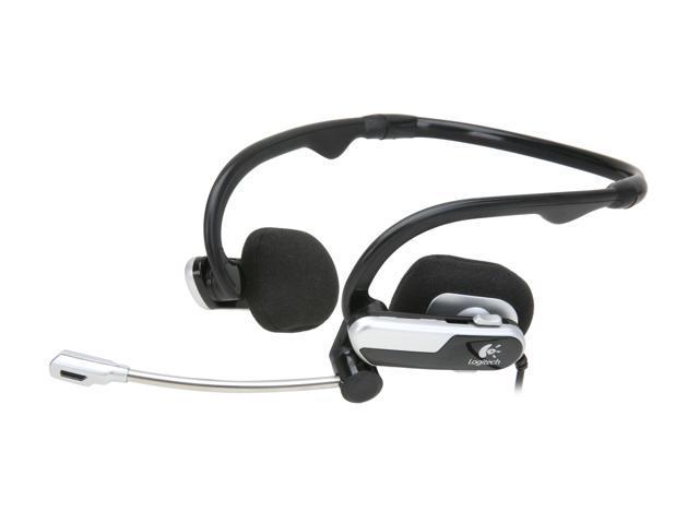 Logitech 980445-0403 3.5mm/ USB Connector Supra-aural Premium Notebook Headset