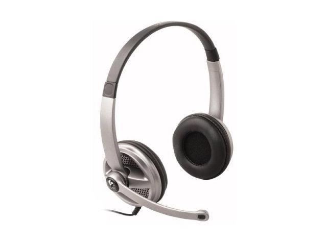 Logitech 980369-0403 3.5mm Connector Supra-aural Premium Stereo Headset