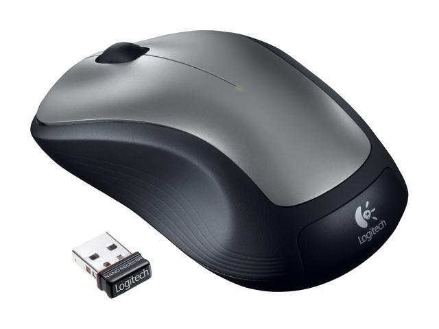 Logitech Wireless Mouse M310 (910-001675) Silver 3 Buttons 1 x Wheel USB RF Wireless Laser Mouse