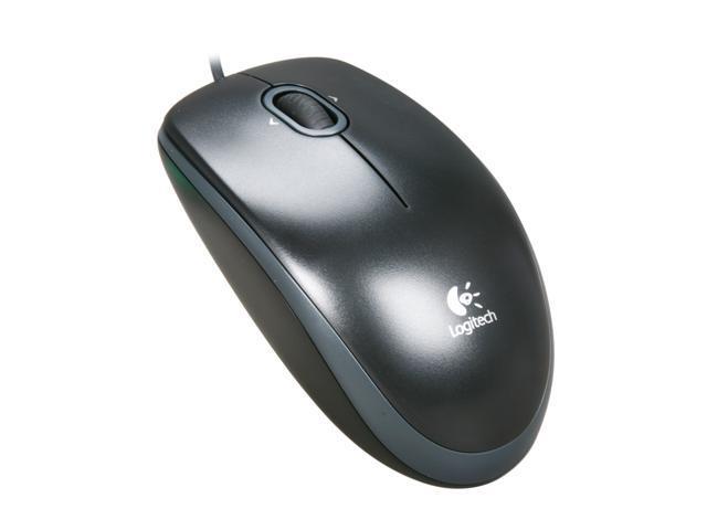 Logitech B120 USB Mouse - Black