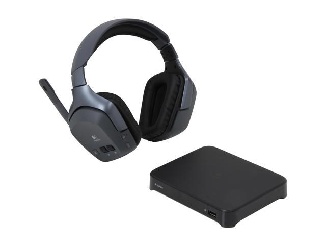 Logitech F540 3.5mm/ RCA Connector Circumaural Wireless Headset