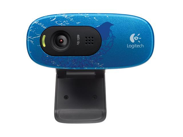 Logitech C270 USB 2.0 WebCam Indigo Scroll