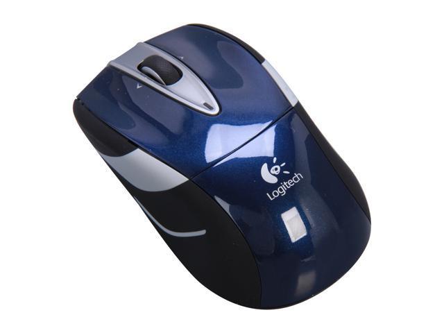 Logitech Wireless Mouse M525 - Navy / Grey