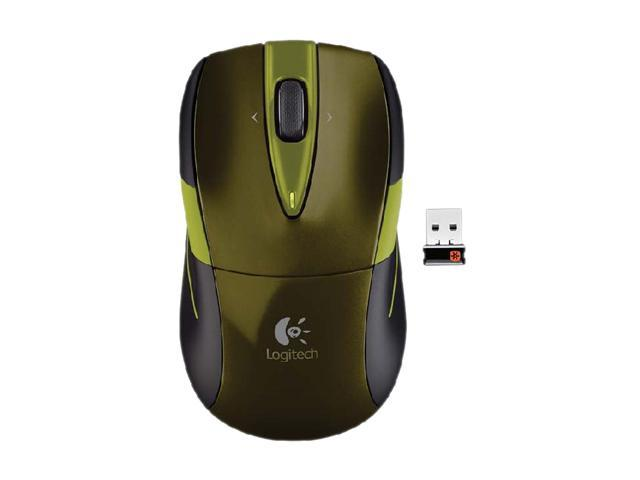 Logitech Wireless Mouse M525 910-002699 Green Tilt Wheel USB RF Wireless Optical Mouse