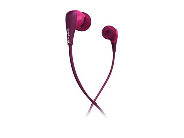 Logitech Ultimate Ears Purple 200vi 3.5mm Connector Canal Noise Isolating Earphone