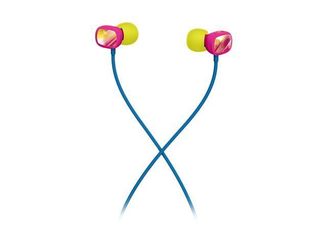 Logitech Pink/Yellow 985-000249 Ultimate Ears 100 Noise Isolating Earphones