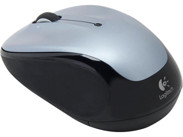 Logitech M325 RF Wireless Optical 1000dpi Mouse, Silver, 910-002332
