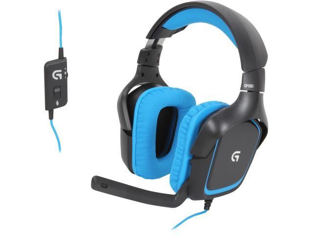 Logitech G430 Surround Sound Gaming Headset X And Dolby 7