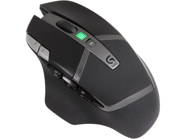 Logitech G602 910-003820 Black 11 Buttons 1 x Wheel USB RF Wireless Optical 2500 dpi Gaming Mouse