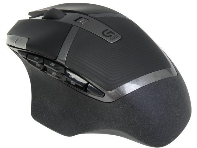 Logitech G602 Black RF Wireless Optical Gaming Mouse (910-003820)