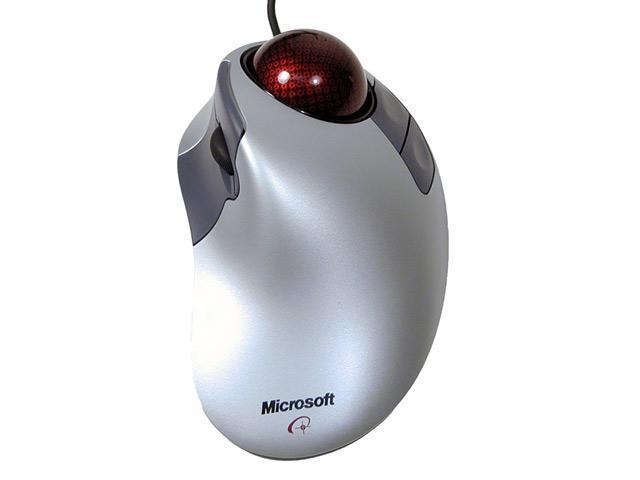 Microsoft Trackball Explorer D68 00007 2 Tone 5 Buttons 1x