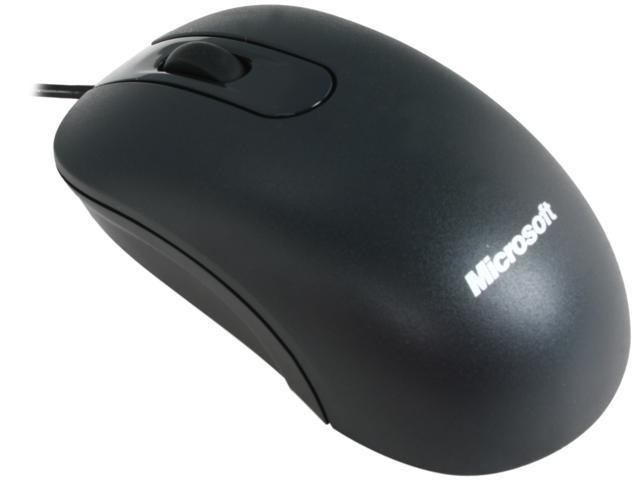 Microsoft JUD-00001 Black 3 Buttons 1 x Wheel USB Wired Optical Mouse