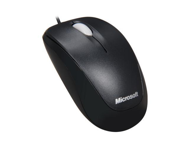 Microsoft Compact Optical Mouse for Business Black 3 Buttons 1 x Wheel USB Wired
