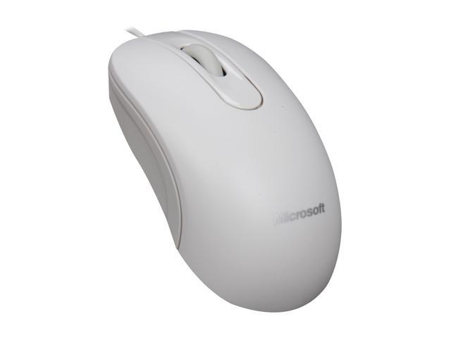 Microsoft Optical Mouse 200 for Business White 3 Buttons 1 x Wheel USB Wired
