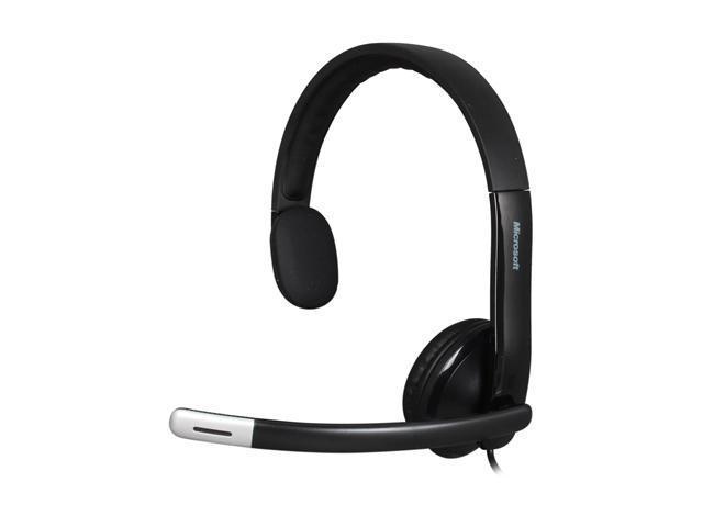 Microsoft LifeChat LX-4000 USB Connector Single Ear Headset