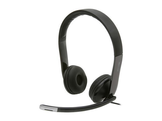 Microsoft LifeChat LX-6000 USB Connector Supra-aural Headset